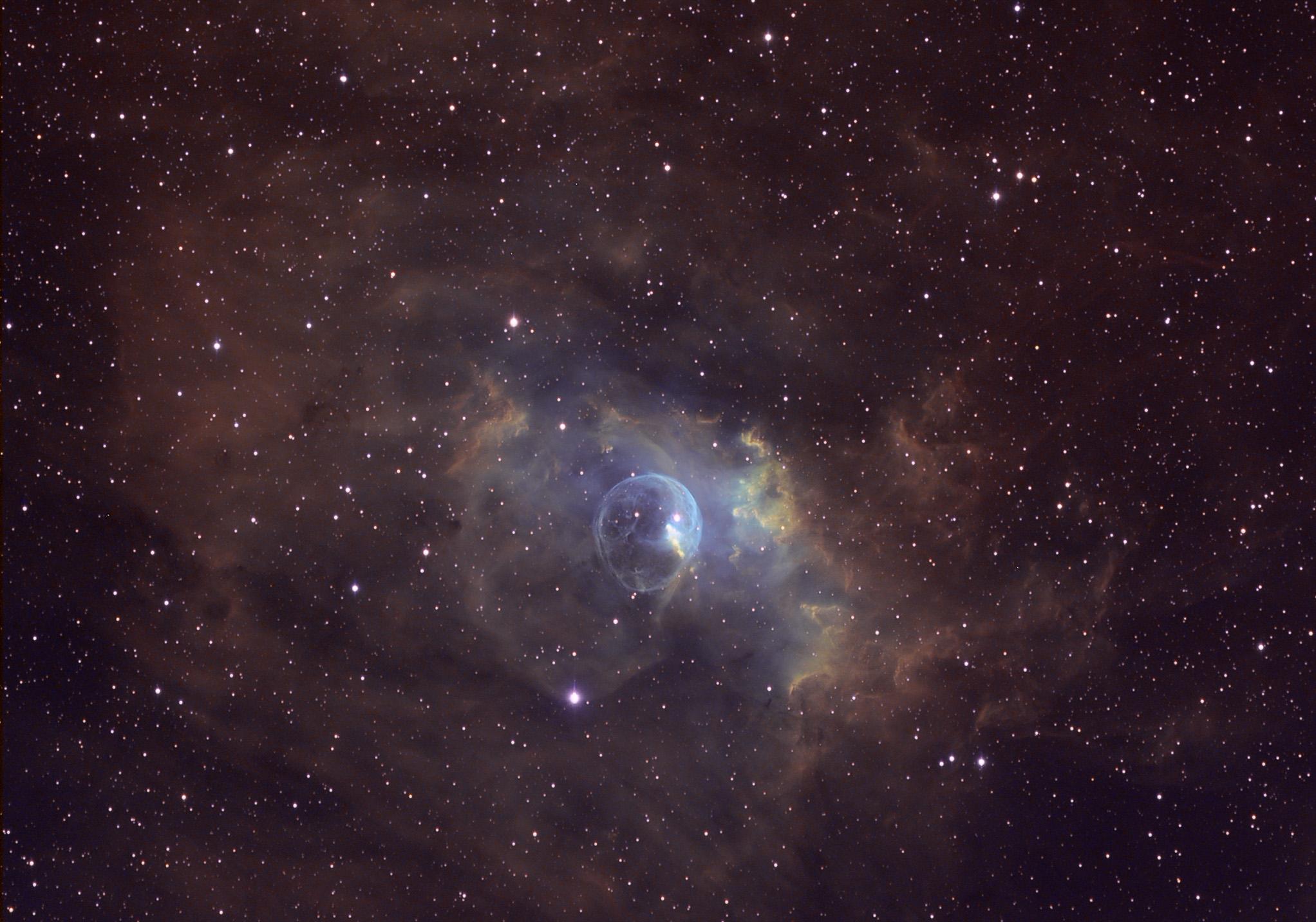 NGC 7635 Bubble Nebula - Full Res